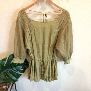 Free people tunic top Size XS